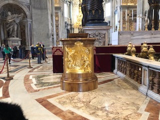 golden pulpit