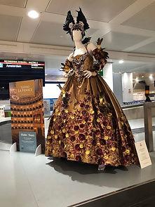 venice brown dress airport.jpg