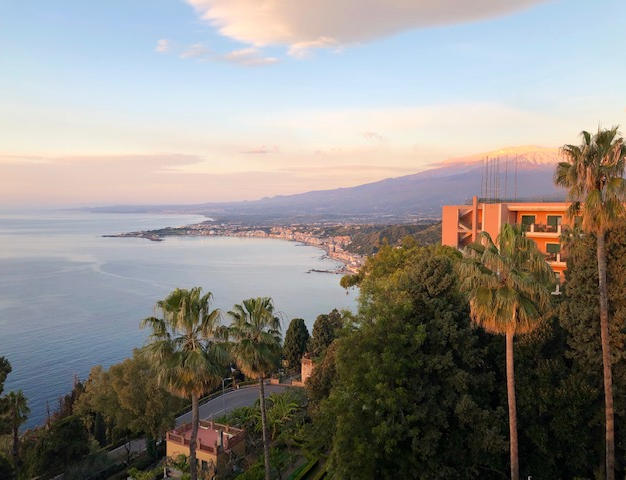 South of Taormina in Morining