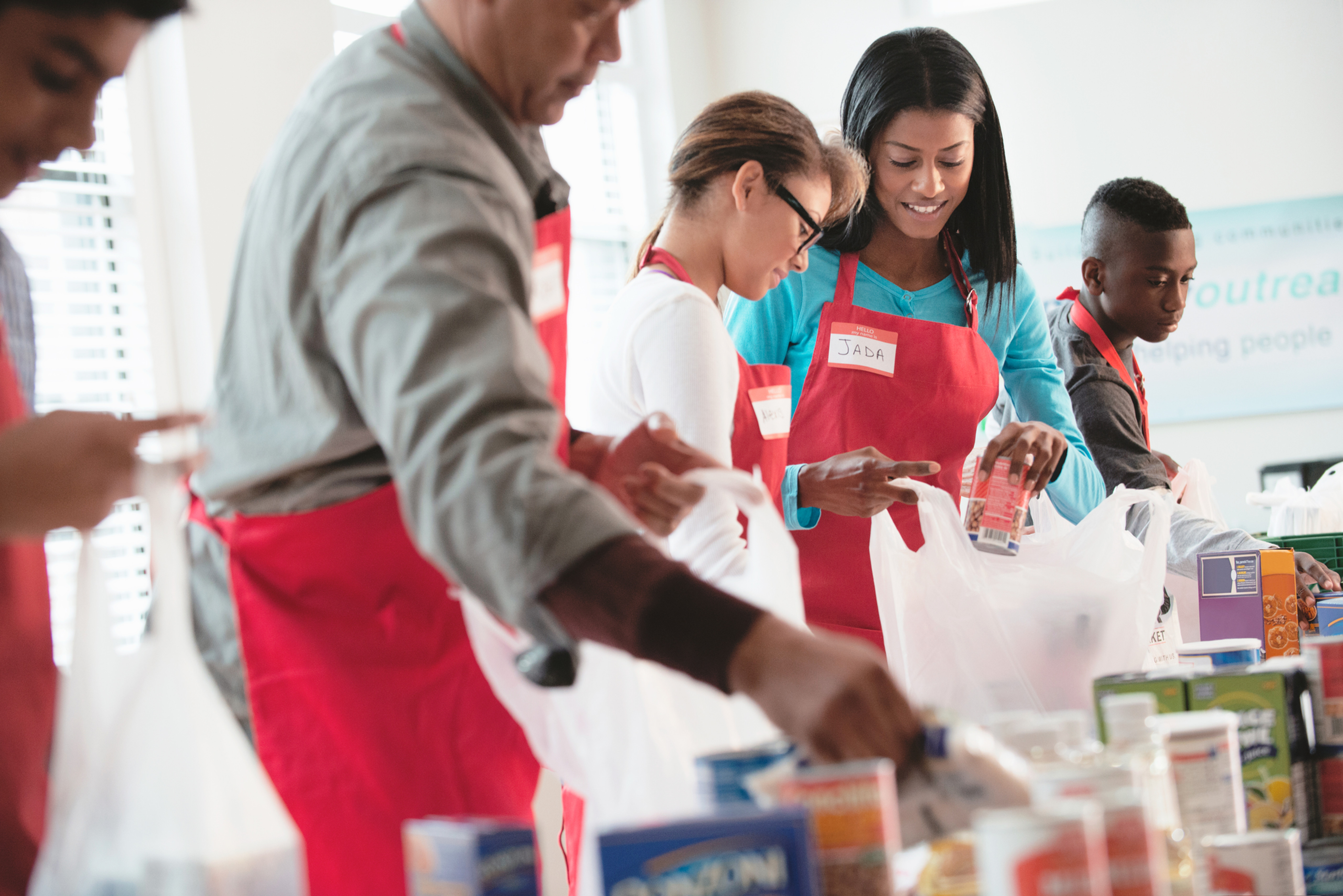 Volunteer for Food Pantry
