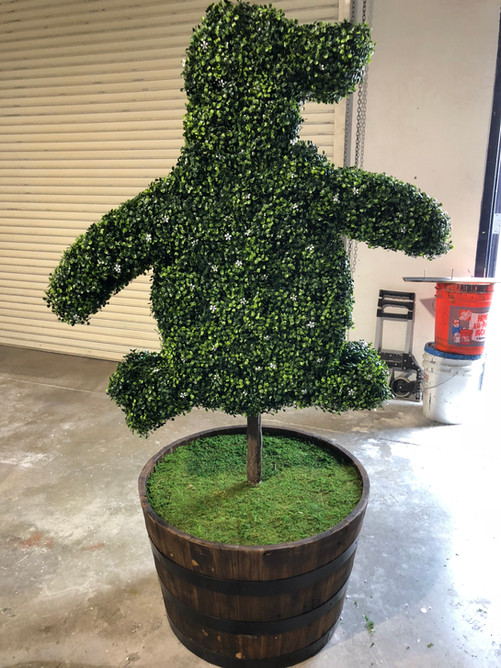 Topiary Decor