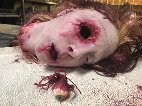 Severed Head Lifecast & Sculpt