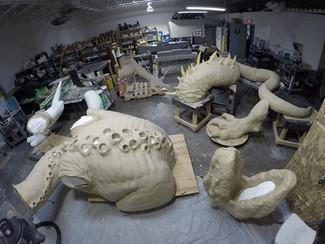 Cool Dragon Sculpt