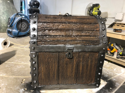 Pirate Chest Prop