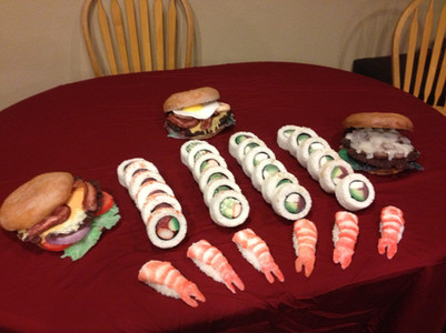 Fake Food Sushi