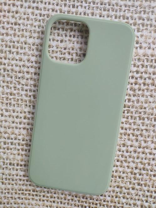 קייס מאויר לאייפון בצבע פיסטוק