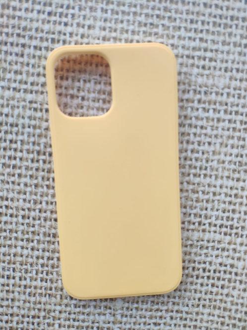 קייס מאויר לאייפון בצבע צהוב