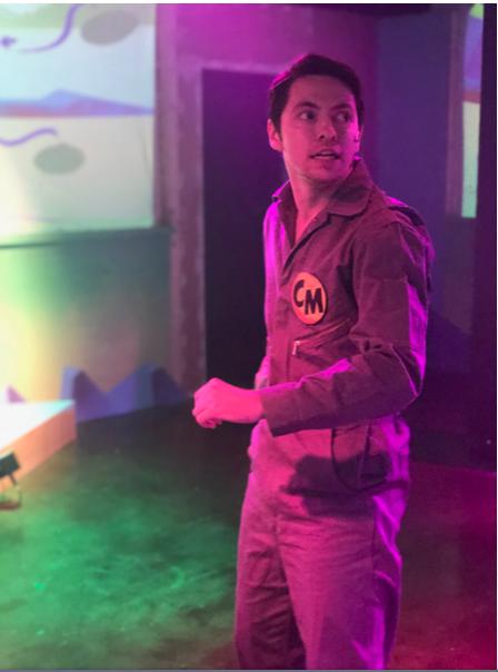 Captain Ric Rogers (Michael Hayden Sprenger) explores Wongo