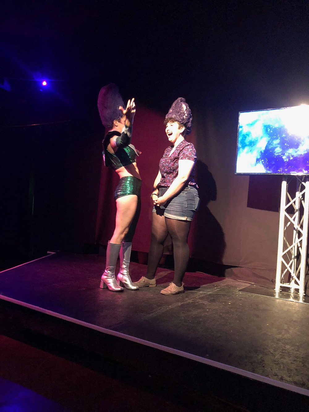 Dinette (Sissy Anne Quaranta) crowns the newest Wongette-in-training!