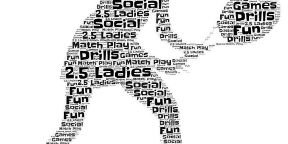 2.5 Women Evening Social League