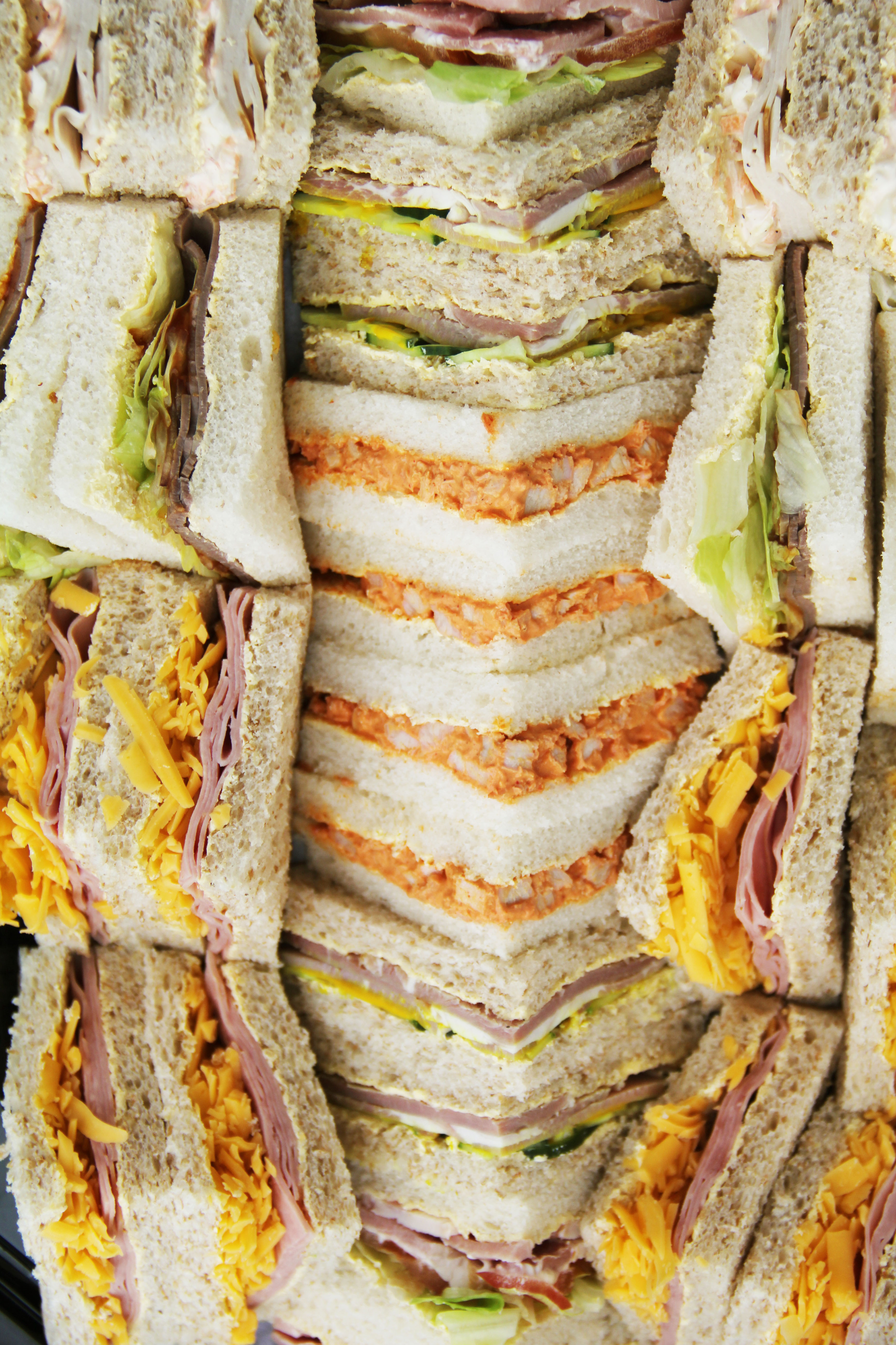 Sandwich platter from Catering Twist