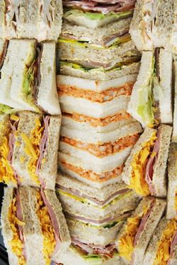 Sandwich platter from Catering Twist