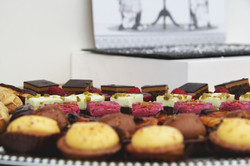 Cake selection from Catering Twist