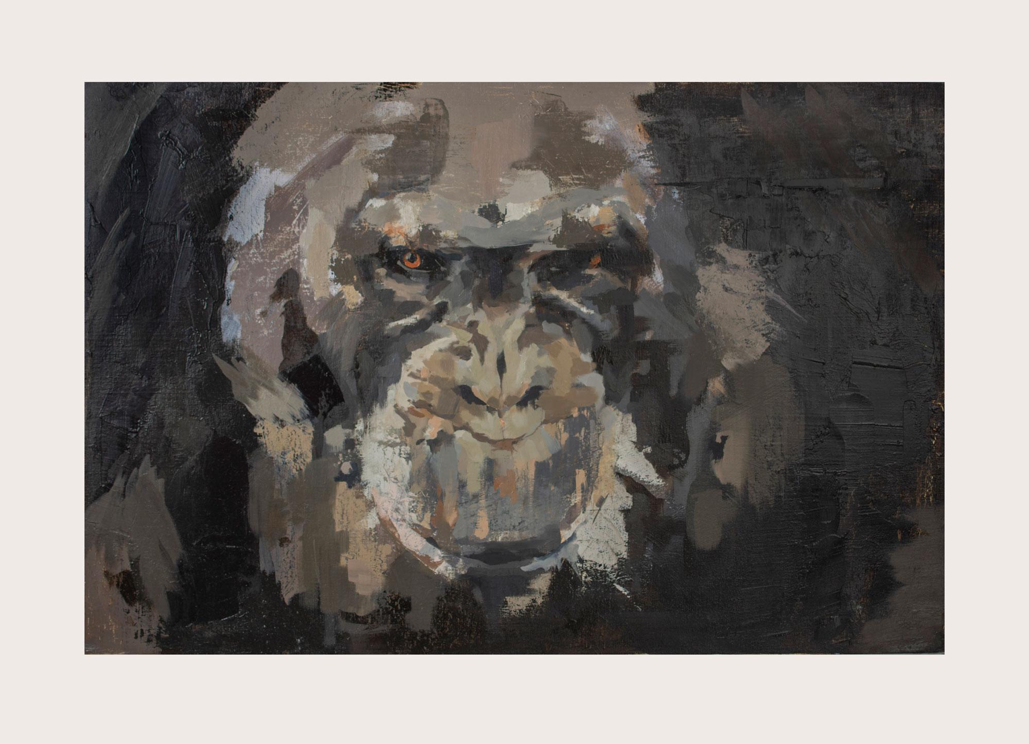 Fear | Oil on canvas board | 20 x 30 in