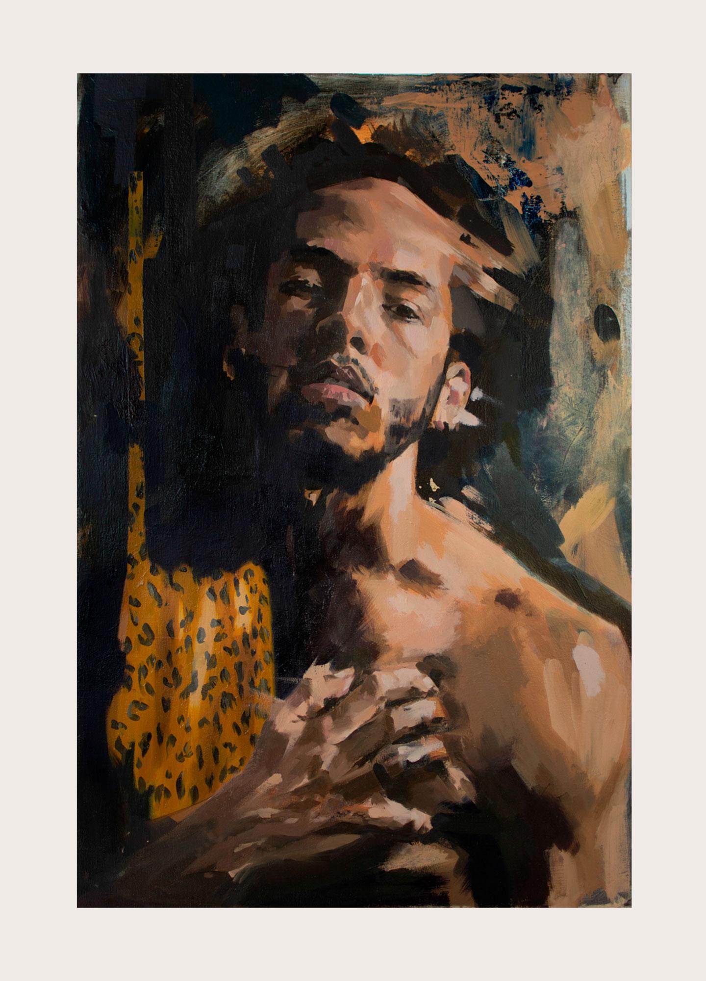 My Release | Oil on canvas board | 30 x 20 in