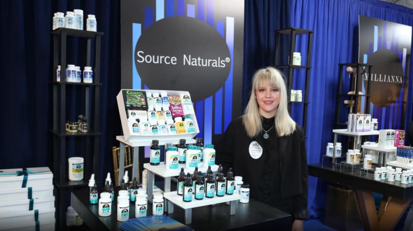Source Naturals at Grammy Gift Lounge.pn