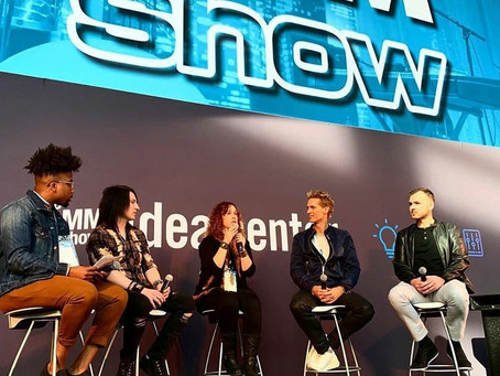 Aliza Joins House of Blues Music Forward Foundation on the Idea Stage at Winter NAMM 2020