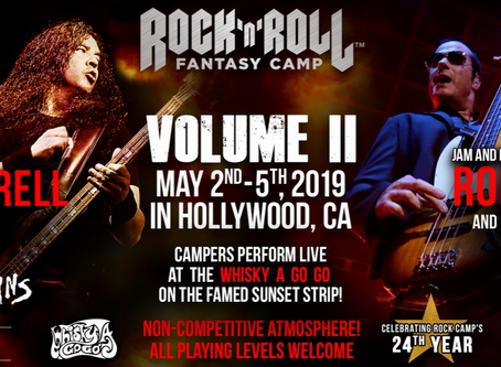 I'm Going to Camp! Rock N' Roll Fantasy Camp, That Is...