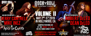 Rock n' Roll Fantasy Camp with Alice in Chains and Stone Temple Pilots