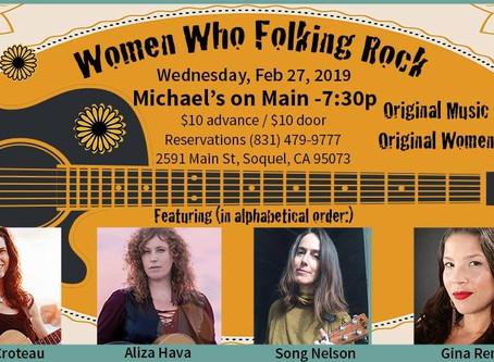 Women Who Folking Rock!