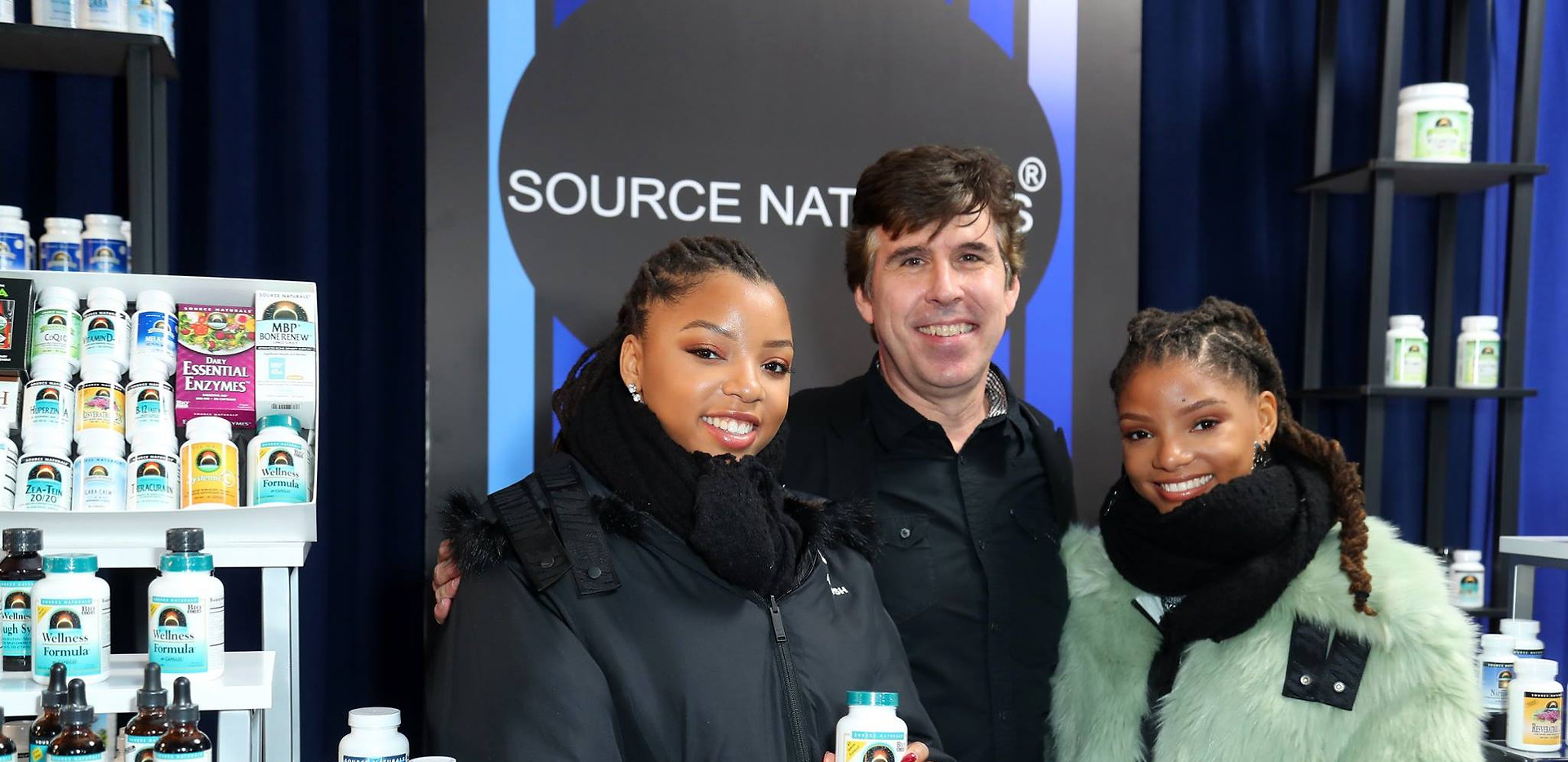 With Chloe and Halle