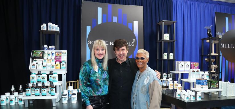 With Dionne Warwick