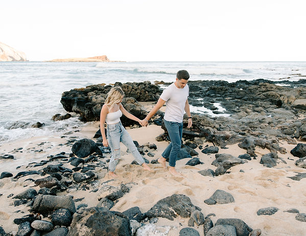 Kara and Anthony Couples Session at Maka