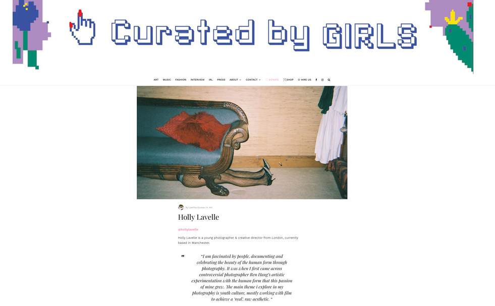 Curated by Girls