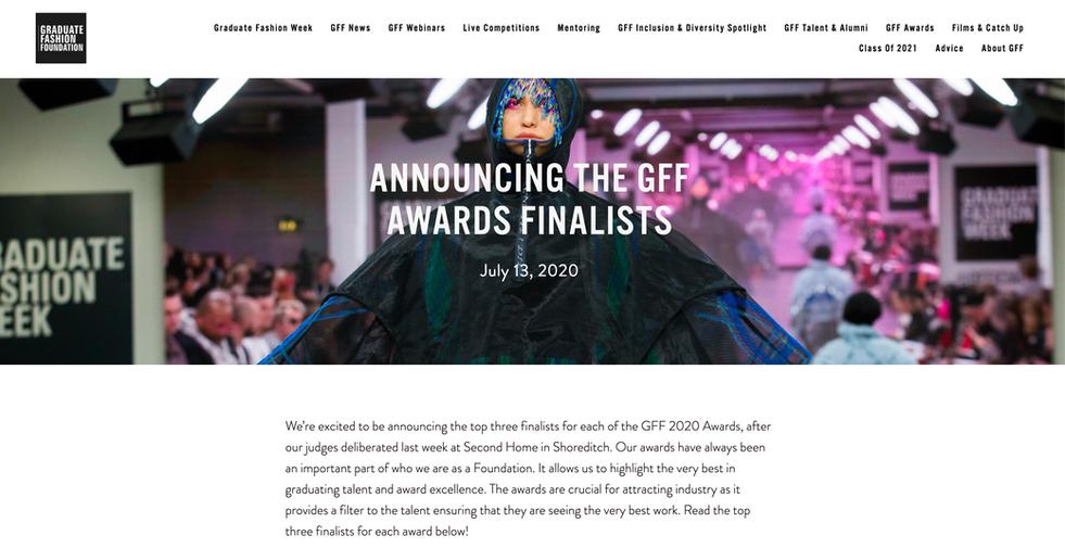GFW award announcement