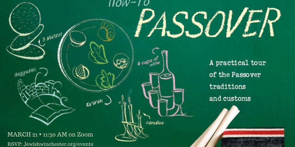 'How to' Passover - Pre-Pesach Class