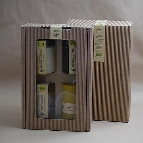 """Regionale Bio Blütenhonig Geschenkbox """"1.Edition"""""""