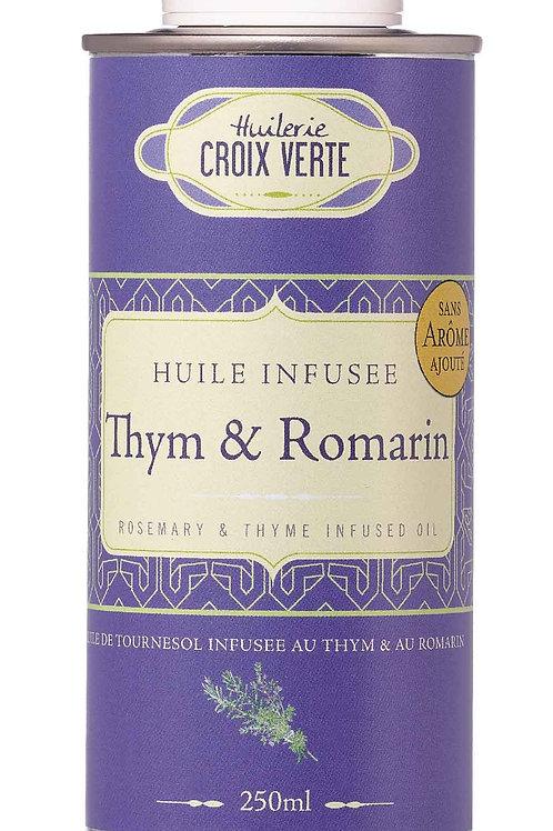 Thymian- und Rosmarinöl - (Croix Verte)