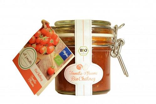 Tomate-Pflaume Bio-Chutney