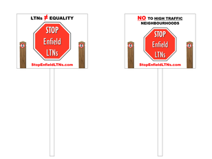 STOP Enfield LTNs T-Boards