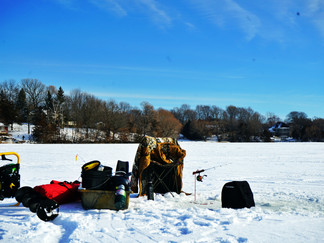 Hitting the Ice in Early January for some Fishing