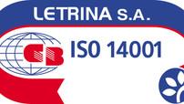 Η εταιρεία μας πιστοποιήθηκε σύμφωνα με τα πρότυπα iso 14001 - 9001