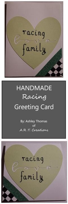 Racing Family Love Card