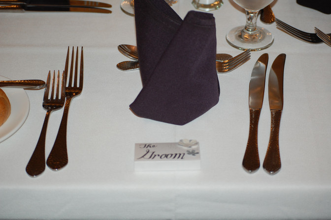 Handmade Place Cards
