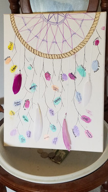 Thumb print dream catcher guestbook.jpg