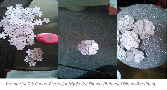 Handmade Center Pieces