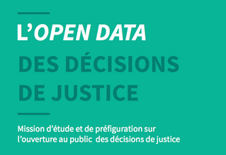 Open data des décisions de justice
