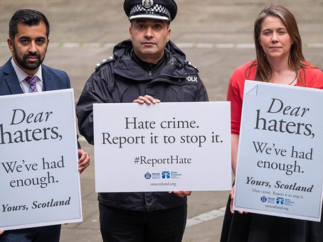Hate Crime Bill: Boris Needs To Protect Scotland From A Govt Gone Wild.