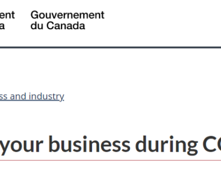 COVID-19: Resources and government programs for Individuals, Self-Employed & Small Businesses