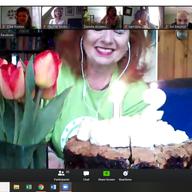 Zoom birthday party