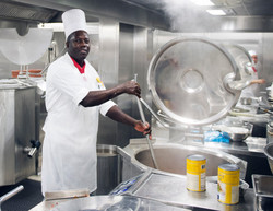 Galley: A Cruise Ship's Kitchen