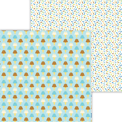 Here´s The School Pattern Paper