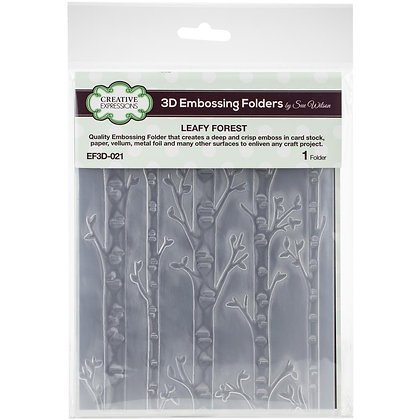 Leafy Forest Embossing Folder