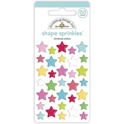 Christmas wishes Shape Sprinkletz