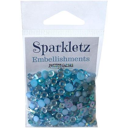 Sparkletz Embellishment Pack 10g Ocean Waves