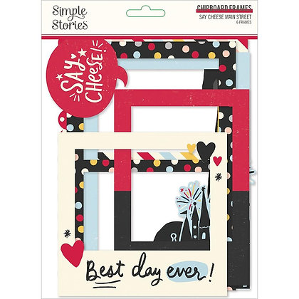 Say Cheese Chipboard Frames